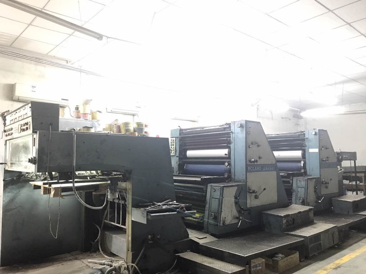 纸箱生产线