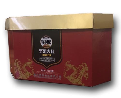 锦润坚果礼盒包装纸箱