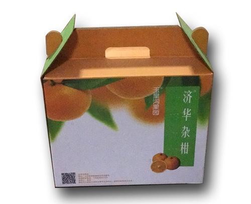 自扣式水果包装盒